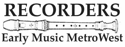 Recorders/Early Music MetroWest logo